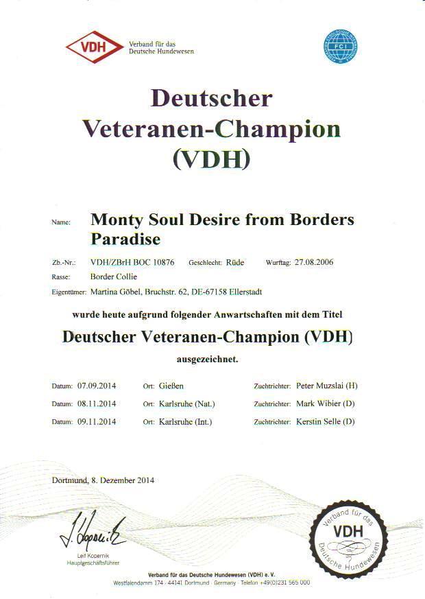 Vet.Champion VDH 1